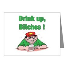 Drink up, Bitches Note Cards (Pk of 10)