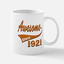 Awesome Since 1921 Birthday Designs Mug