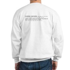 Volunteer Firefighter Definition Sweatshirt