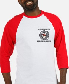 Volunteer Firefighter Definition Baseball Jersey
