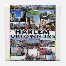 Funny Harlem Tile Coaster