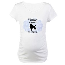 Standard Poodles In Heaven Shirt