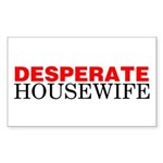 Desperate Housewife Rectangle Sticker
