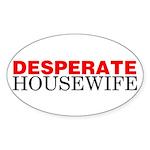 Desperate Housewife Oval Sticker