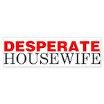 Desperate Housewife Bumper Sticker