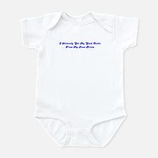 I Obviously Got My Good Looks Infant Bodysuit