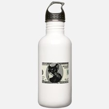 Cash Cat Water Bottle