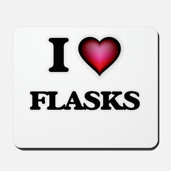 I love Flasks Mousepad