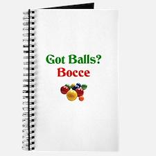 Got Balls? Bocce Journal