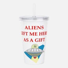 aliens Acrylic Double-wall Tumbler