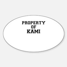 Property of KAMI Decal