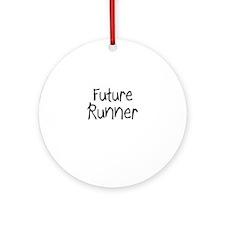 Future Runner Ornament (Round)
