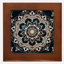 Funny Patterns Framed Tile