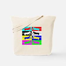 Dock Diving Pop-Arf Tote Bag