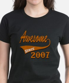 Awesome Since 2007 Birthday D Tee