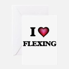 I love Flexing Greeting Cards