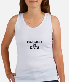 Property of KAYA Tank Top