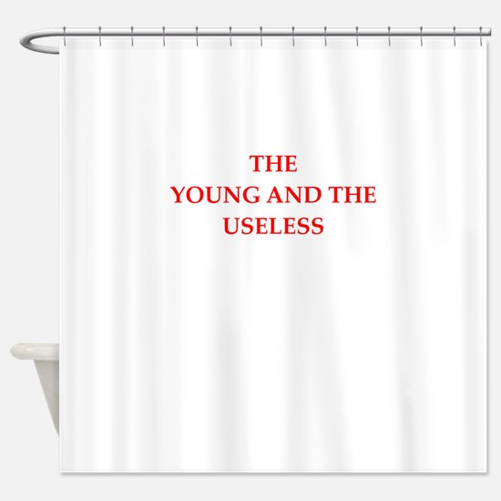 young Shower Curtain