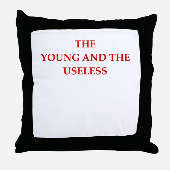 young Throw Pillow