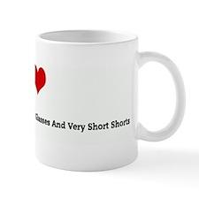 I Love Short-Haired Swedish M Mug