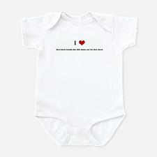 I Love Short-Haired Swedish M Infant Bodysuit