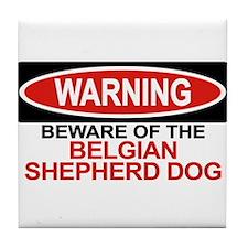 BELGIAN SHEPHERD DOG Tile Coaster