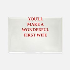 first wife Magnets