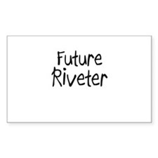 Future Riveter Rectangle Decal