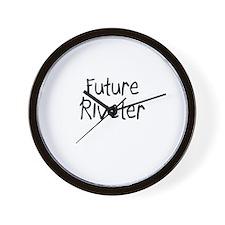 Future Riveter Wall Clock