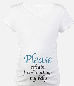 please refrain from touching Shirt