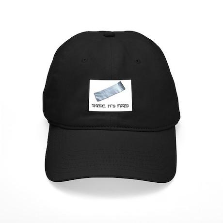 Duck Tape Black Cap