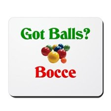Got Balls? Bocce Mousepad