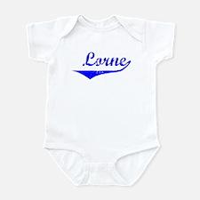 Lorne Vintage (Blue) Infant Bodysuit