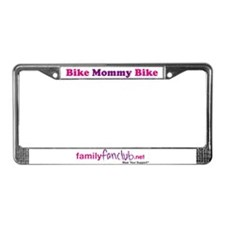 Bike Mommy Bike License Plate Frame