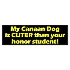 Cuter Canaan Dog Bumper Bumper Sticker