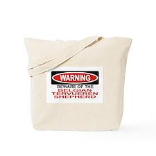 BELGIAN TERVUEREN SHEPHERD Tote Bag