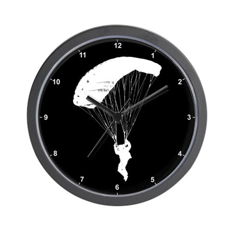 Skydiver Clock