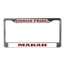 Indian Pride Makah License Plate Frame