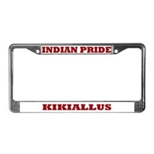 Indian Pride Kikiallus License Plate Frame
