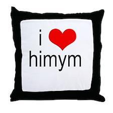 I Heart HIMYM Throw Pillow