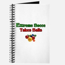 Extreme Bocce Takes Balls Journal