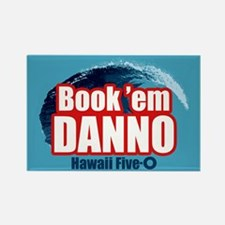H5O Book Em Danno Magnets