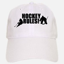 Hockey Rules Baseball Baseball Cap