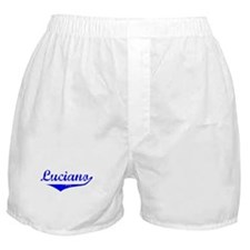 Luciano Vintage (Blue) Boxer Shorts