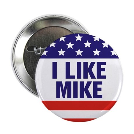 """I Like Mike 2.25"""" Button (10 pack)"""