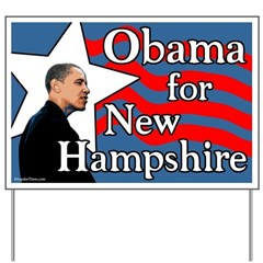 Obama for New Hampshire Yard Sign