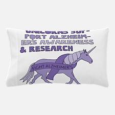 Unicorns Support Alzheimer's awareness Pillow Case