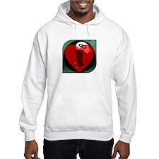 I 'Heart' 8-ball Hoodie