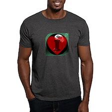 I 'Heart' 8-ball T-Shirt