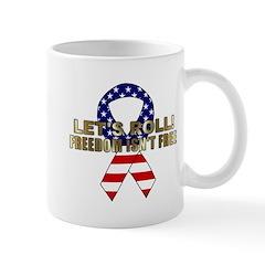 Let's Roll Patriotic Ribbon Mug